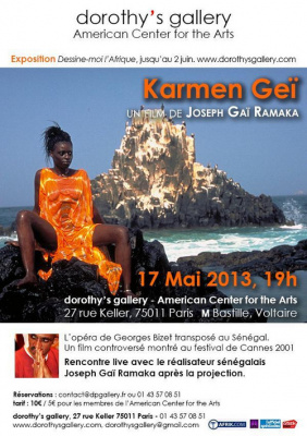 PROJECTION Karmen Geï, de Joseph Gaï Ramaka