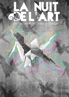 """""""La Nuit de l'Art"""" : MJM Graphic Design au Palais de Tokyo"""
