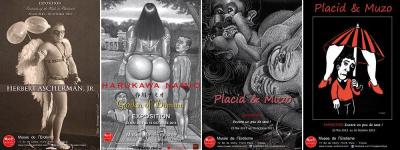Vernissage de l'exposition été 2013 au Musée de l'érotisme