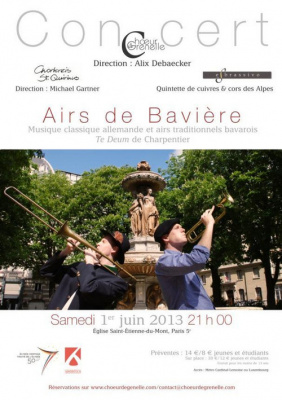 Airs de Bavière - Te Deum de Charpentier