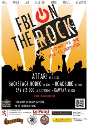 FBL On The Rock - Free open air electro-rock festival