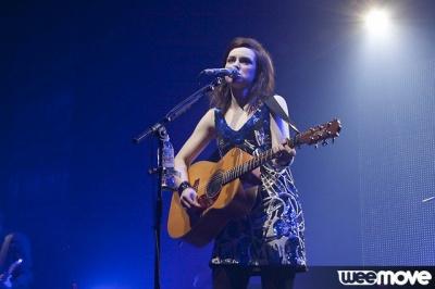 Amy McDonald en concert au Zénith de Paris le 4 Novembre 2010