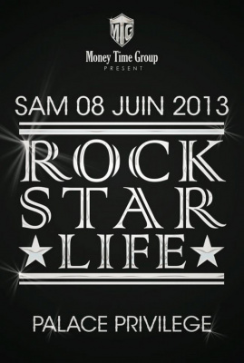 rock star life  hip hop luxury party