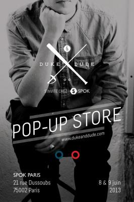 Pop-up Store Duke & Dude