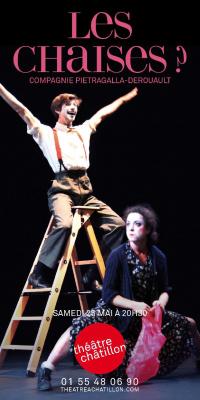 LES CHAISES ? – Un spectacle de la célèbre danseuse et chorégraphe Marie-Claude Pietragalla