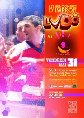 Match d'improvisation théâtrale de la LUDO de Boulogne-Billancourt