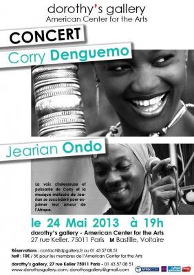CONCERT Corry Denguemo & Jearian Ondo