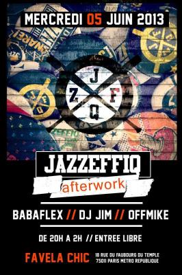 JAZZEFFIQ afterwork