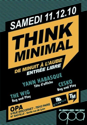 think minimal
