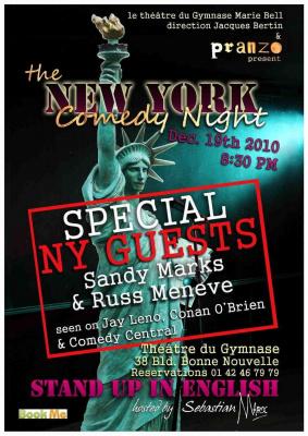 new york giant comédie night
