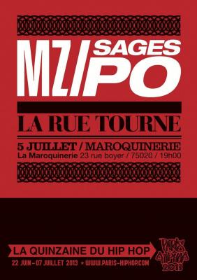 MZ + LES SAGES POETES DE LA RUE