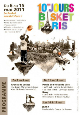 10 jours du Basket à Paris