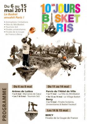 10 jours du Basket à Paris