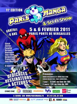salon paris manga sci fi show les 5 et 6 f vrier 2011