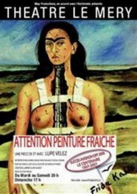 Attention peinture fraiche ou la vie de Frida Kahlo