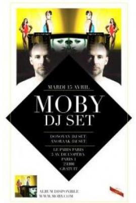 Moby DJ Set