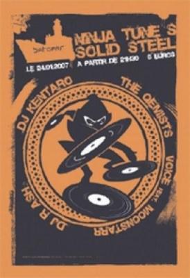 Ninja Tune s Solid Steel Session