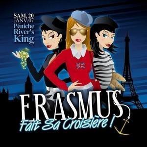 Erasmus fait sa croisiere