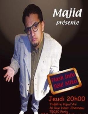 Flash Info Tele mito par Majid