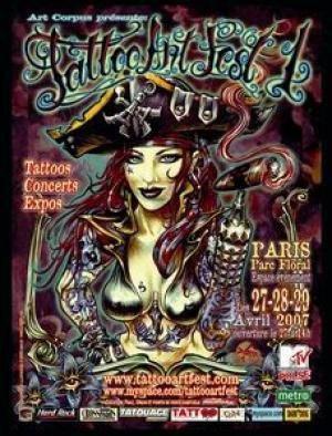 TATTOO ART FEST Le Salon du Tatouage et des Arts associés