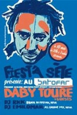 Daby Toure and friends