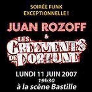 JUAN ROZOFF / LES GREEMENTS DE FORTUNE