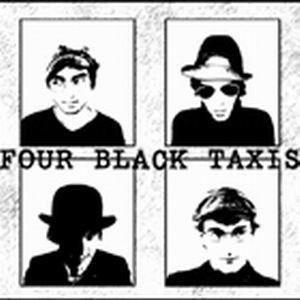 FOUR BLACK TAXIS/ BLUE DAWN