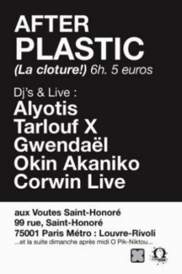 After Festival Plastic