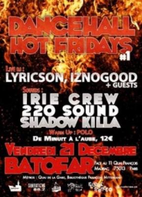 Dancehall Hot Fridays