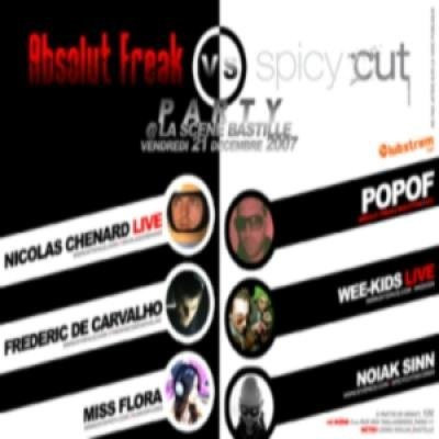 Absolut Freak vs Spicy Cut Party