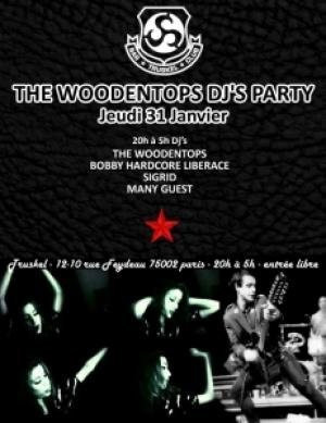 Woodentops DJ's Party