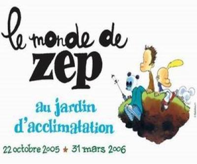 Le Monde de Zep au Jardin d'Acclimatation