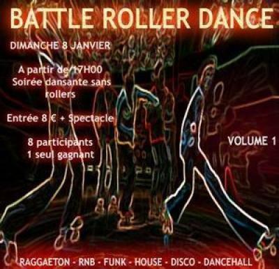 BATTLE ROLLER DANCE