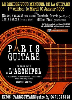 PARIS GUITARE
