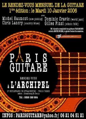 PARIS GUITARE