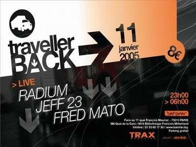 TRAVELLER BACK #4