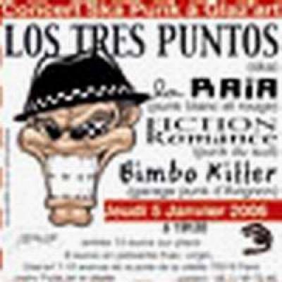 LOS TRES PUNTOS / BIMBO KILLERS / FICTION ROMANCE / LA RAÏA