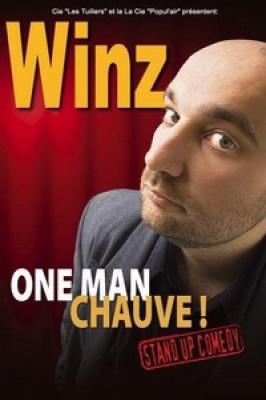 Winz, one man chauve !