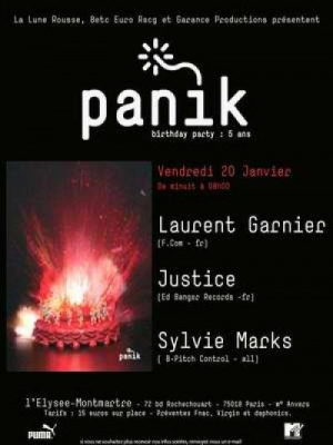 Panik birthday party : 5ans