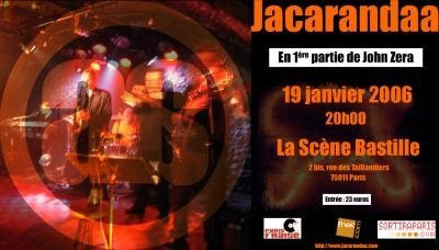 JACARANDAA - première partie de J. Zera
