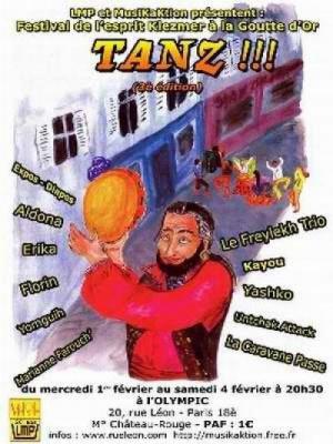 TANZ ! PARIS-KLEZMER