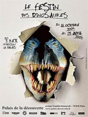 Le festin des dinosaures, des T.rex envahissent le Palais