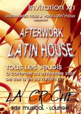 afterwork latin house