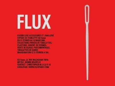 FLUX Fuckin Luxe joaillerie expose sa touillette