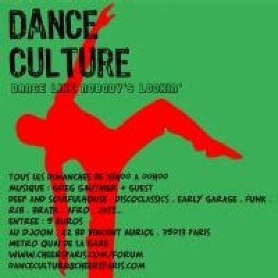 Dance Culture (18h / 00h)