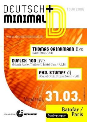Spin : Deutsch & Minimale Tour