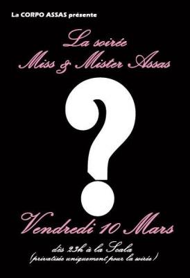 !! MISS & MISTER ASSAS !!