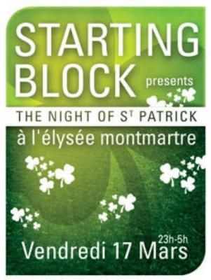 Starting Block Spécial St Patrick