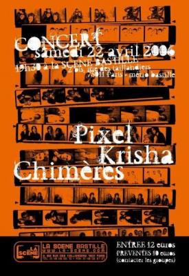 PIXEL/LES CHIMERES/KRISHA