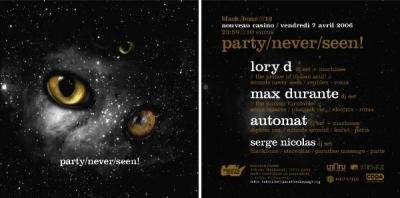 party/never/seen!